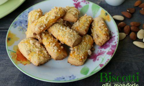 BISCOTTI ALLE MANDORLE Ricetta biscotti croccanti