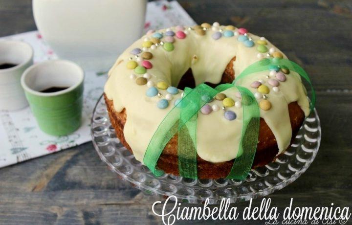 CIAMBELLA DELLA DOMENICA Ricetta dolce