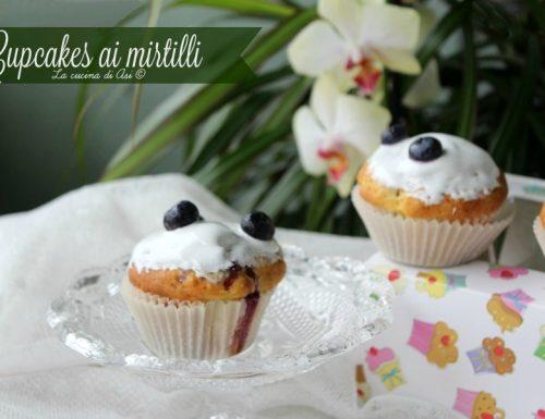 Cupcakes ai mirtilli