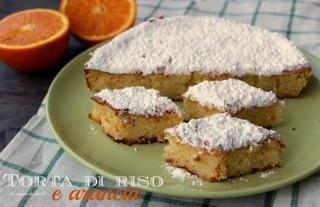 torta di riso e arancia
