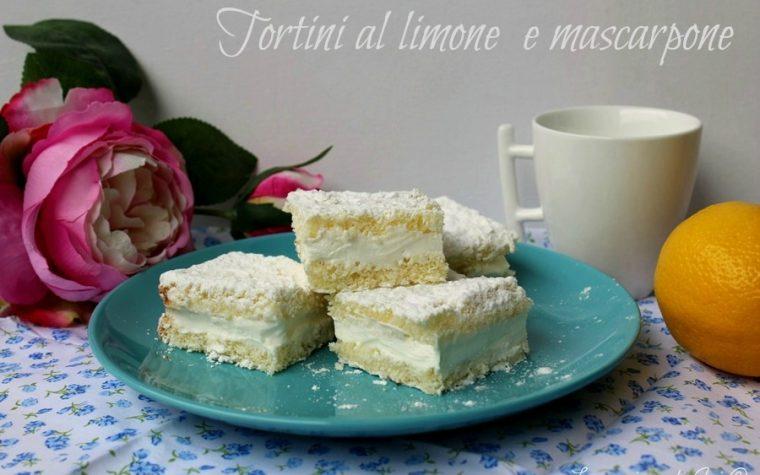 TORTINI AL LIMONE E MASCARPONE
