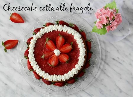 Cheesecake cotta alle fragole