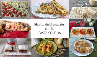 SFOGLIATA VELOCE RIPIENA ricetta appetitosa