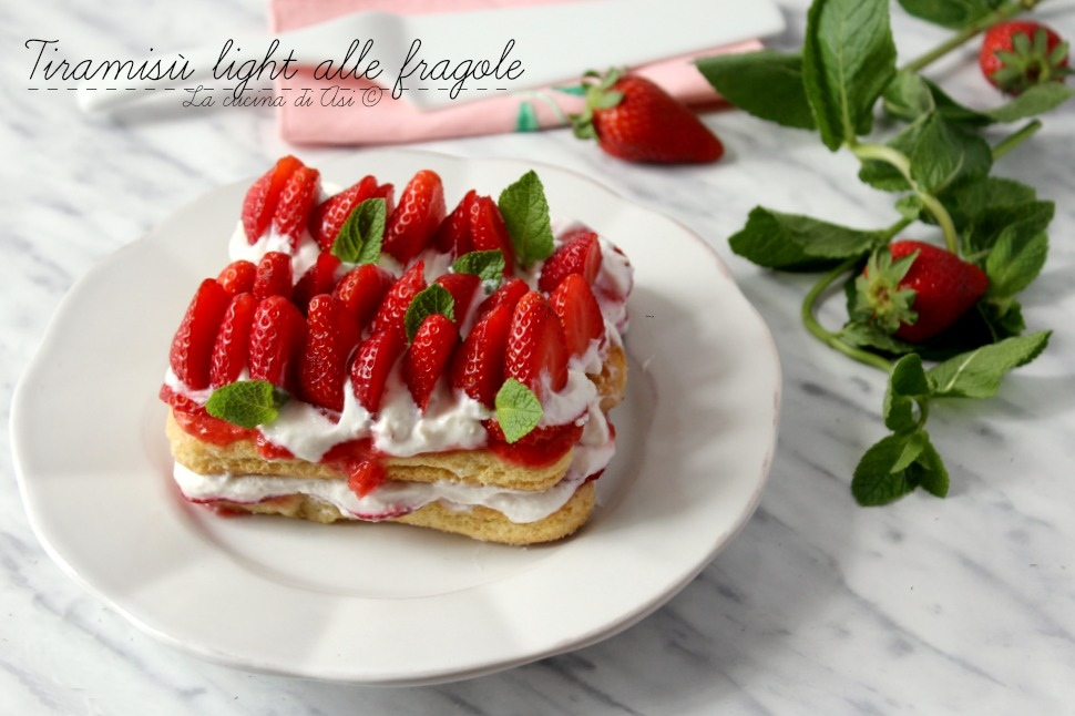 TIRAMISU LIGHT ALLE FRAGOLE