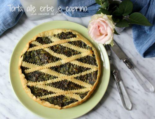 TORTA  ALLE ERBE E CAPRINO