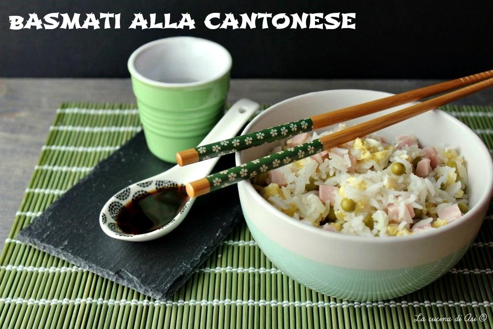 Basmati alla Cantonese