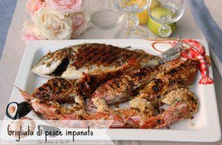 grigliata di pesce impanato