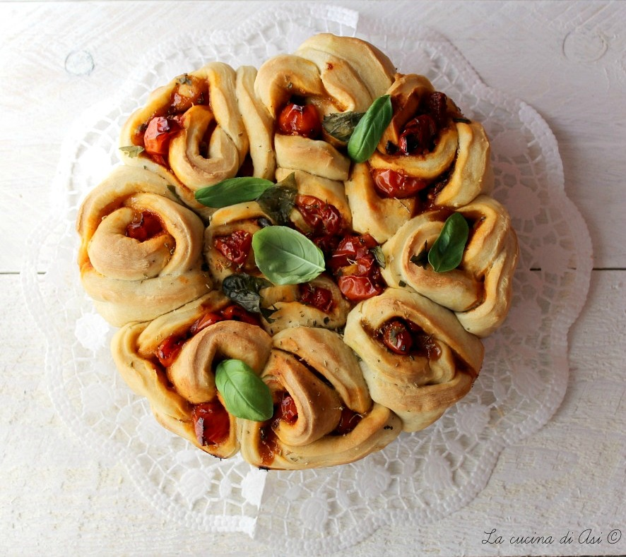 rose di pane farcite