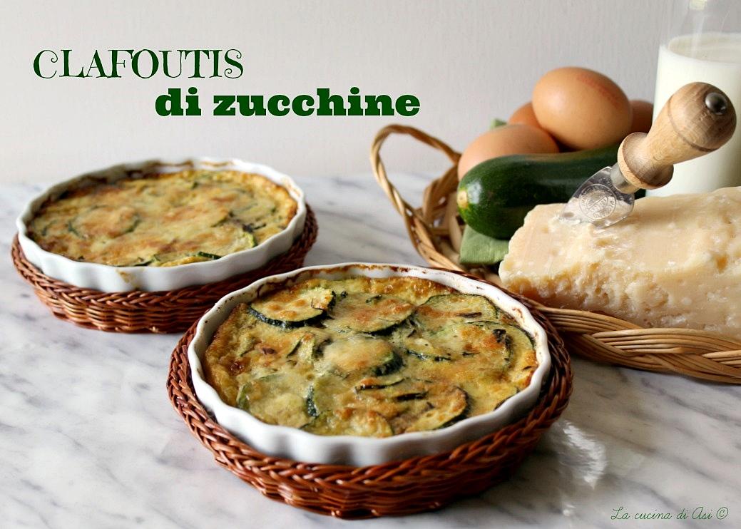 clafoutis di zucchine