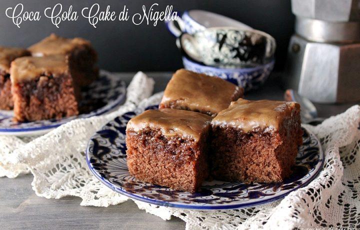 COCA COLA CAKE DI NIGELLA