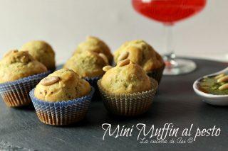 mini muffin al pesto