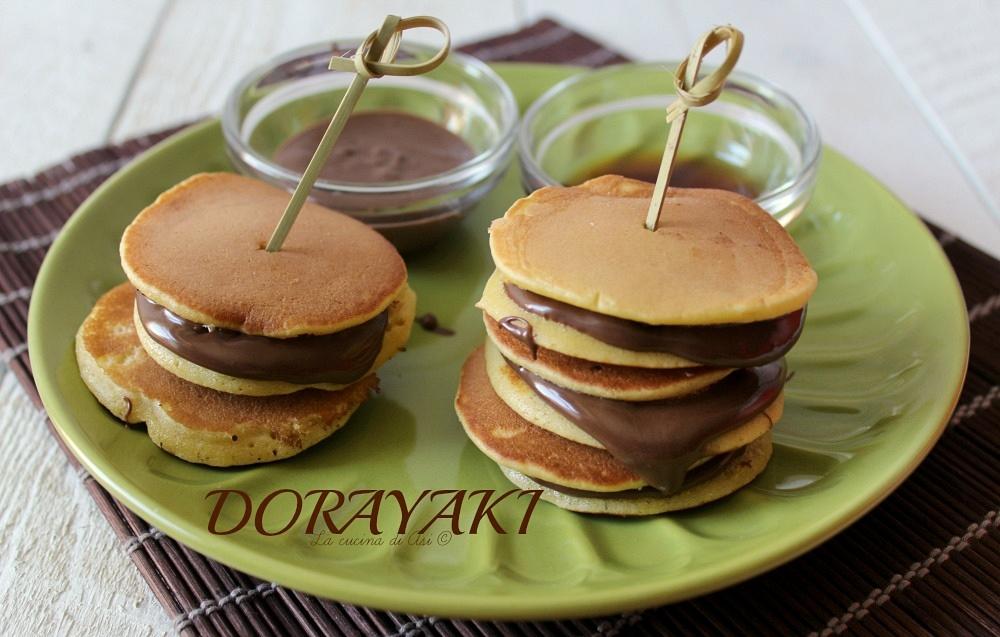Dorayaki dolcetti soffici e delicati della cucina giapponese for Ricette di cibo