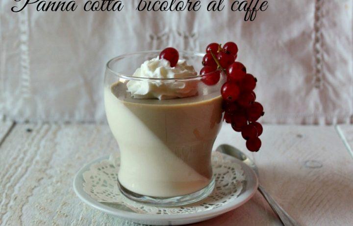 PANNA COTTA BICOLORE AL CAFFE'