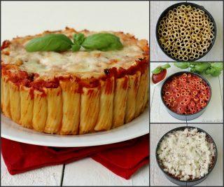 torta di pasta al sugo