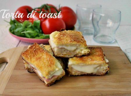 TORTA DI TOAST ricetta golosa