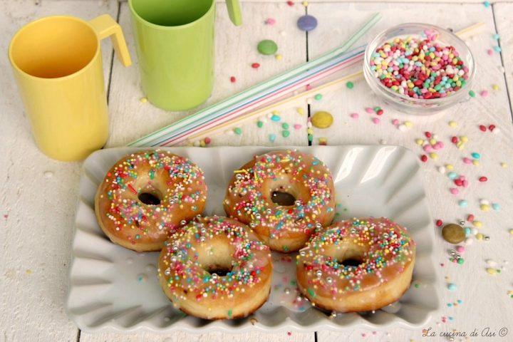 ciambelle donuts al forno