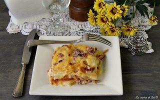 lasagne speck e brie