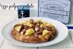 PIZZA POLPO  E PATATE Ricetta lievitato
