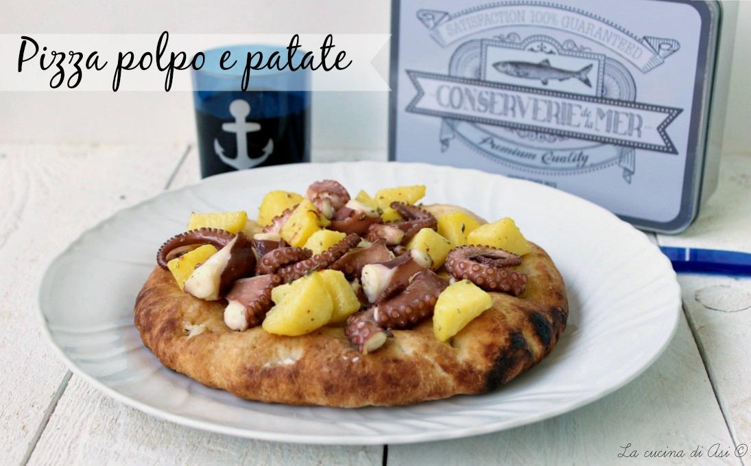 pizza polpo e patate