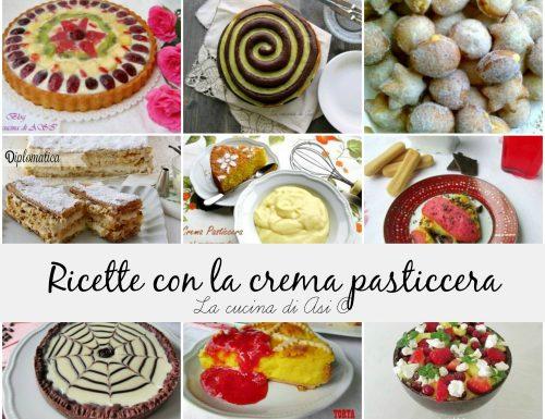 RICETTE CON LA CREMA PASTICCERA
