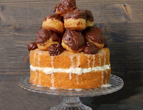 Torta black-white