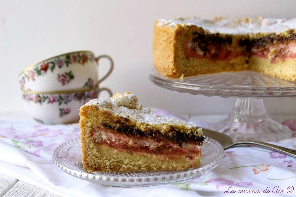 torta di amaretti cioccolato e alchermes
