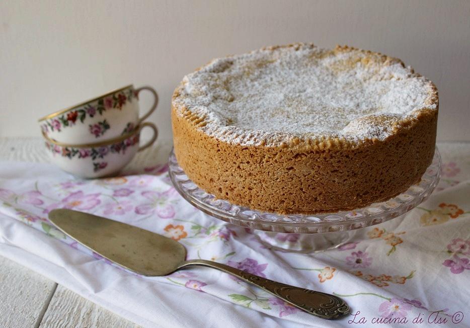 torta di amaretti cioccolato alchermes
