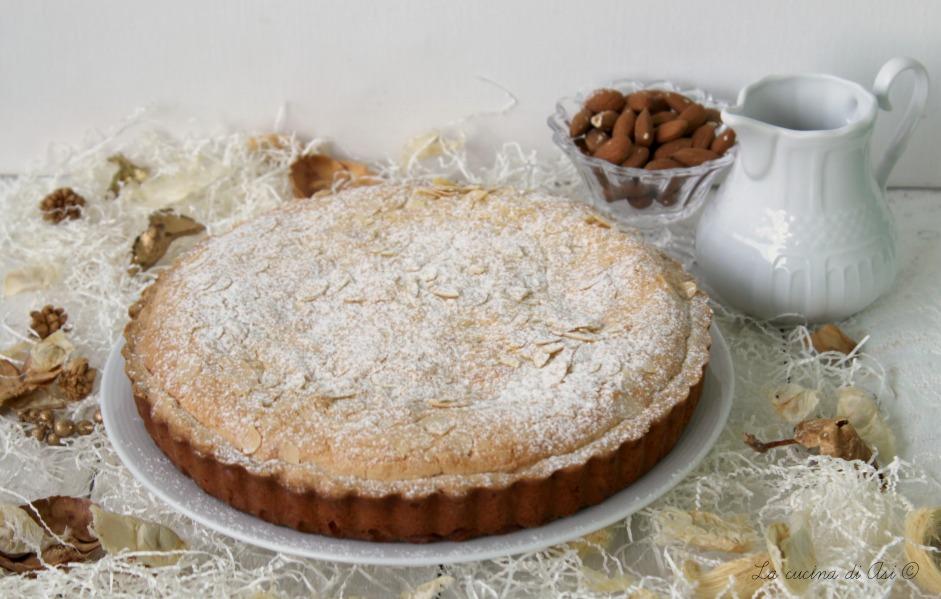 bakewell torta inglese alle mandorle