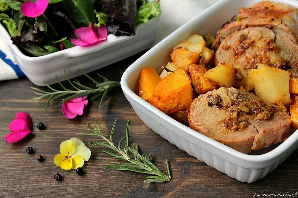 ARROSTO DI LONZA CON GINEPRO ricetta buonissima