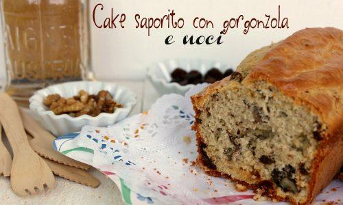 CAKE SAPORITO CON GORGONZOLA E NOCI