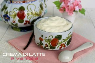 crema di latte e vaniglia