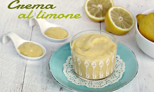 Crema al limone-ricetta buonissima