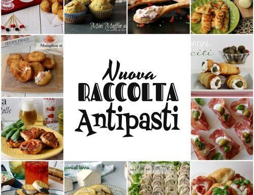 ANTIPASTI NUOVA RACCOLTA RICETTE