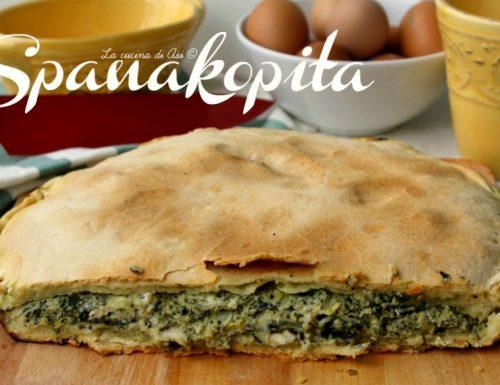 SPANAKOPITA ricetta cucina greca
