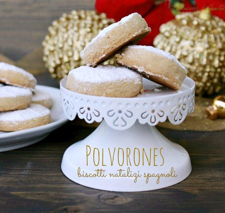 Polvorones biscotti natalizi spagnoli
