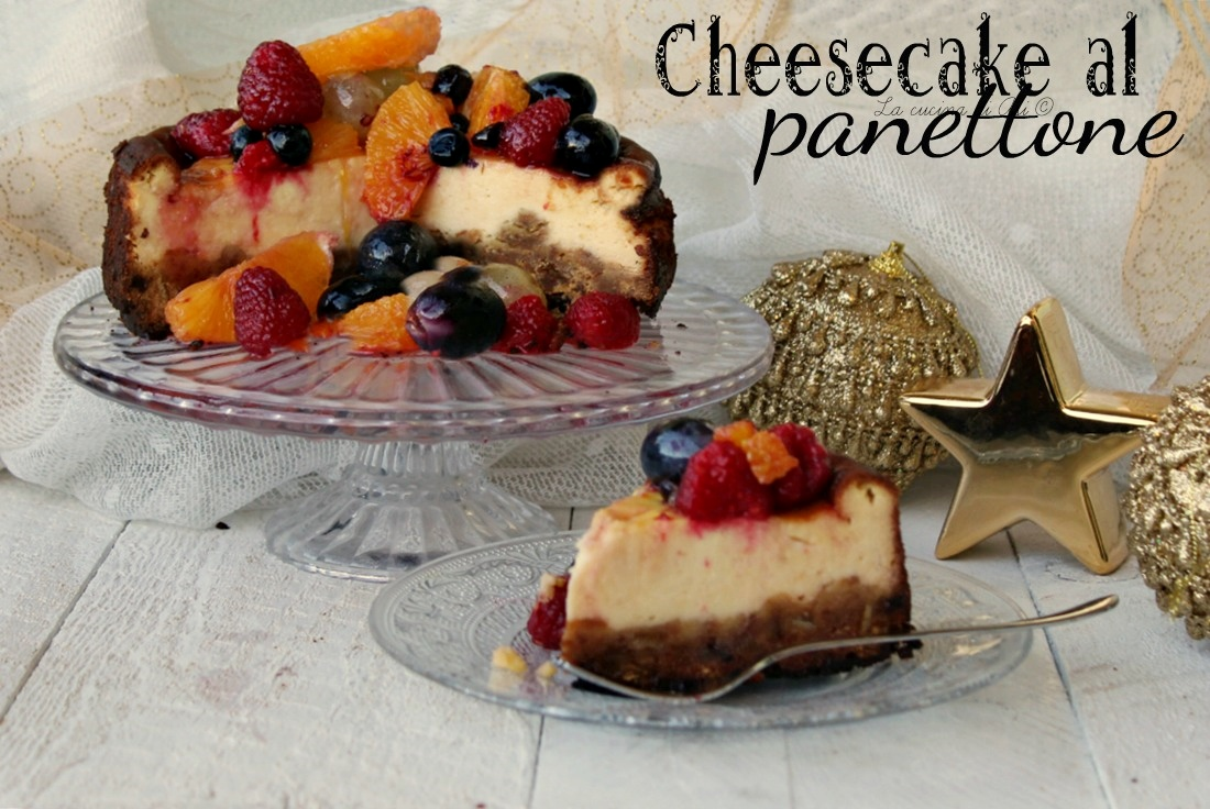 cheesecake al panettone
