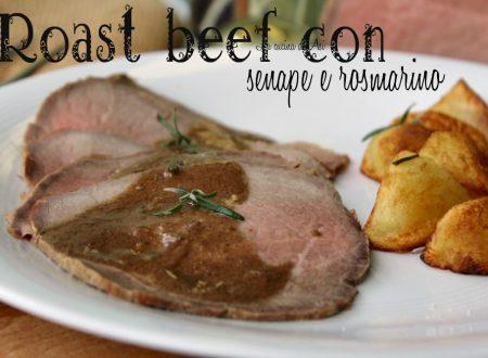 Roast-beef con senape e rosmarino