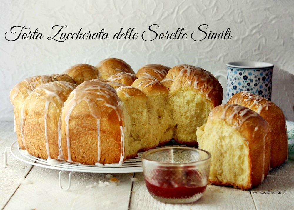 TORTA ZUCCHERATA DELLE SORELLE SIMILI