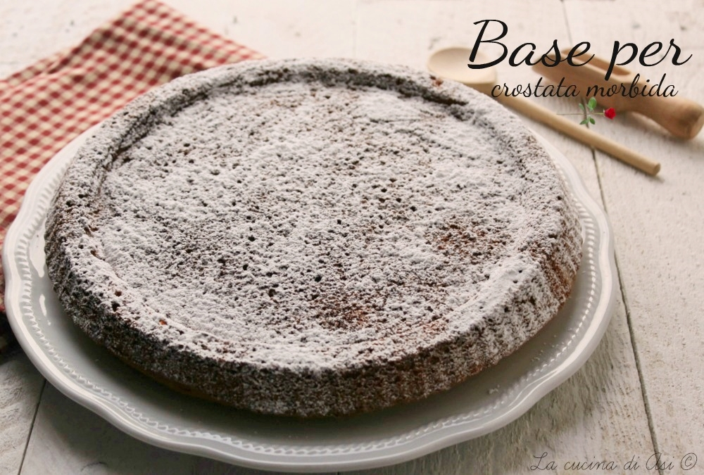 base per crostata morbida