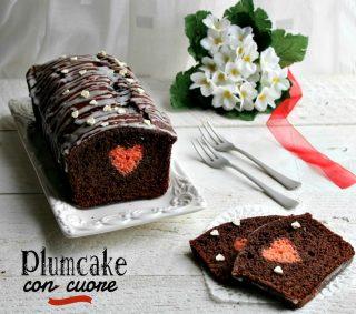 plumcake con cuore