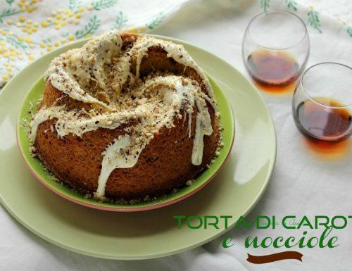 TORTA DI  CAROTE E NOCCIOLE