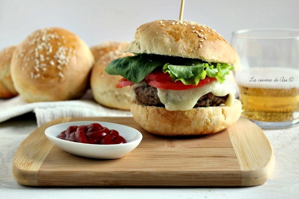 panini per hamburger-burger buns