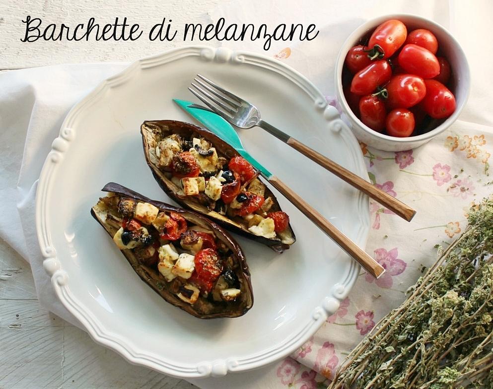 Barchette di melanzane