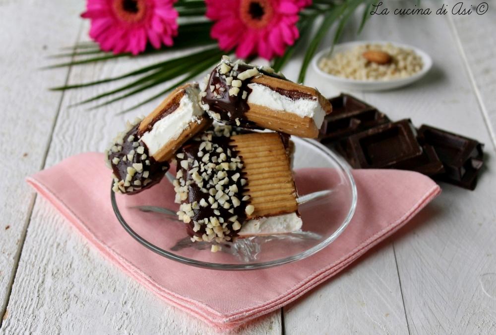 biscottini gelato panna-cioccolato