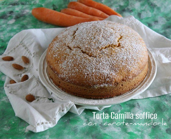 torta camilla soffice con carote-mandorle