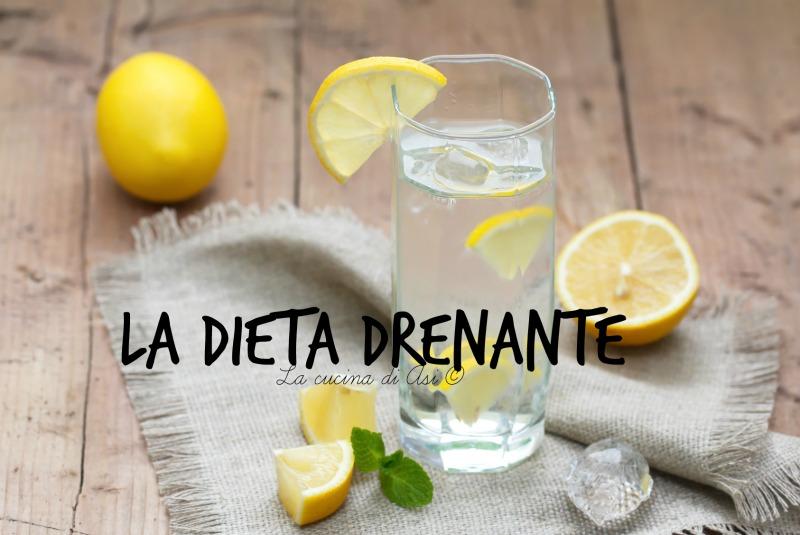 la dieta drenante