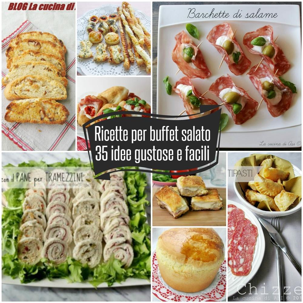 Ricette per un buffet salato 35 idee gustose e facili la for Ricette semplici cucina