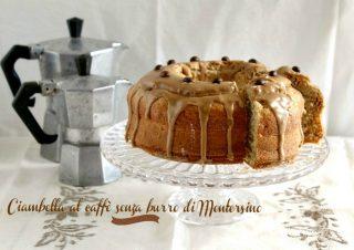 Ciambella al caffè senza burro di Montersino