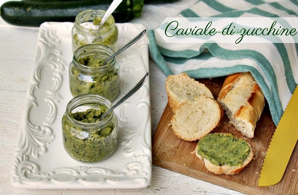 Caviale di zucchine