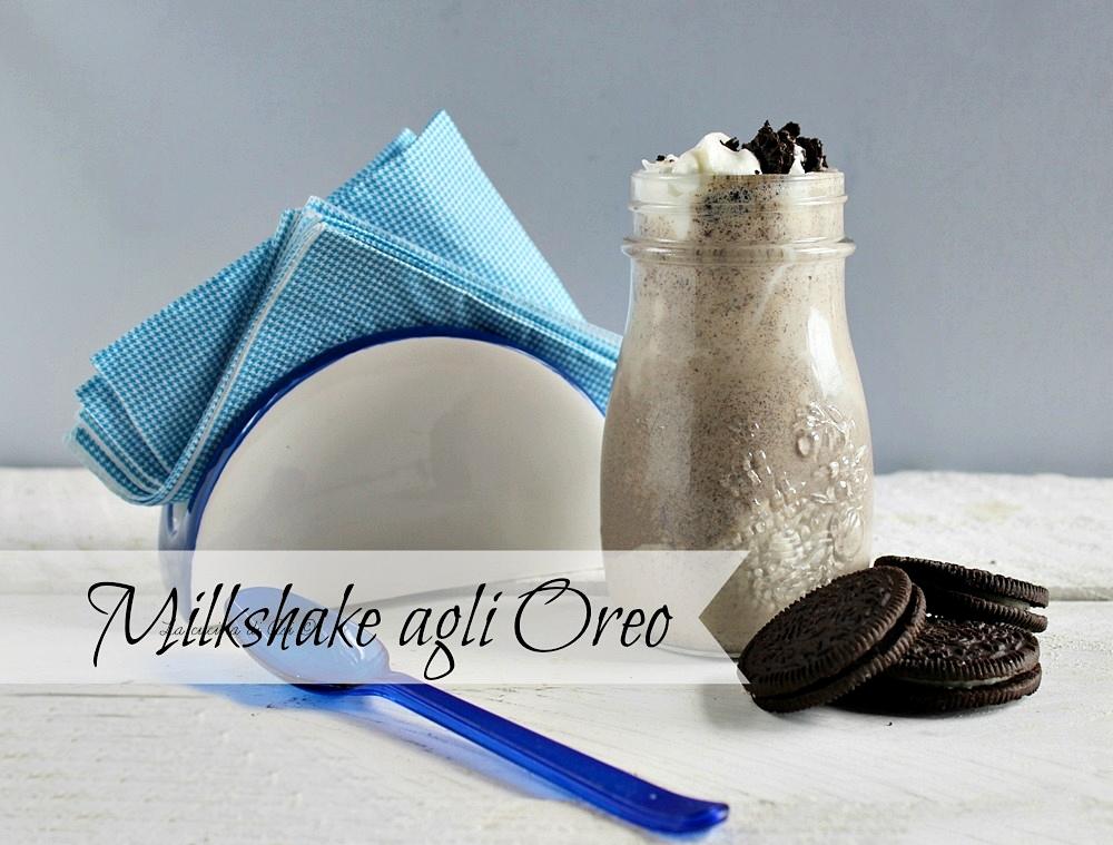 Milkshake agli oreo